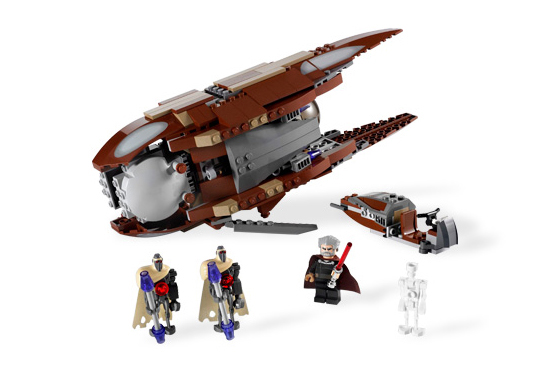 Lego 7752 Count Dooku's Solar Sailer - Alternate View 7752
