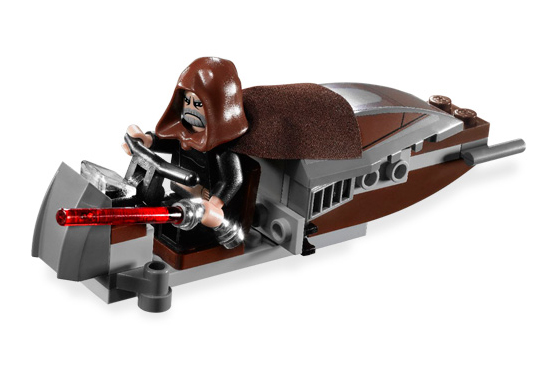 Lego 7752 Count Dooku's Solar Sailer - Alternate View 3