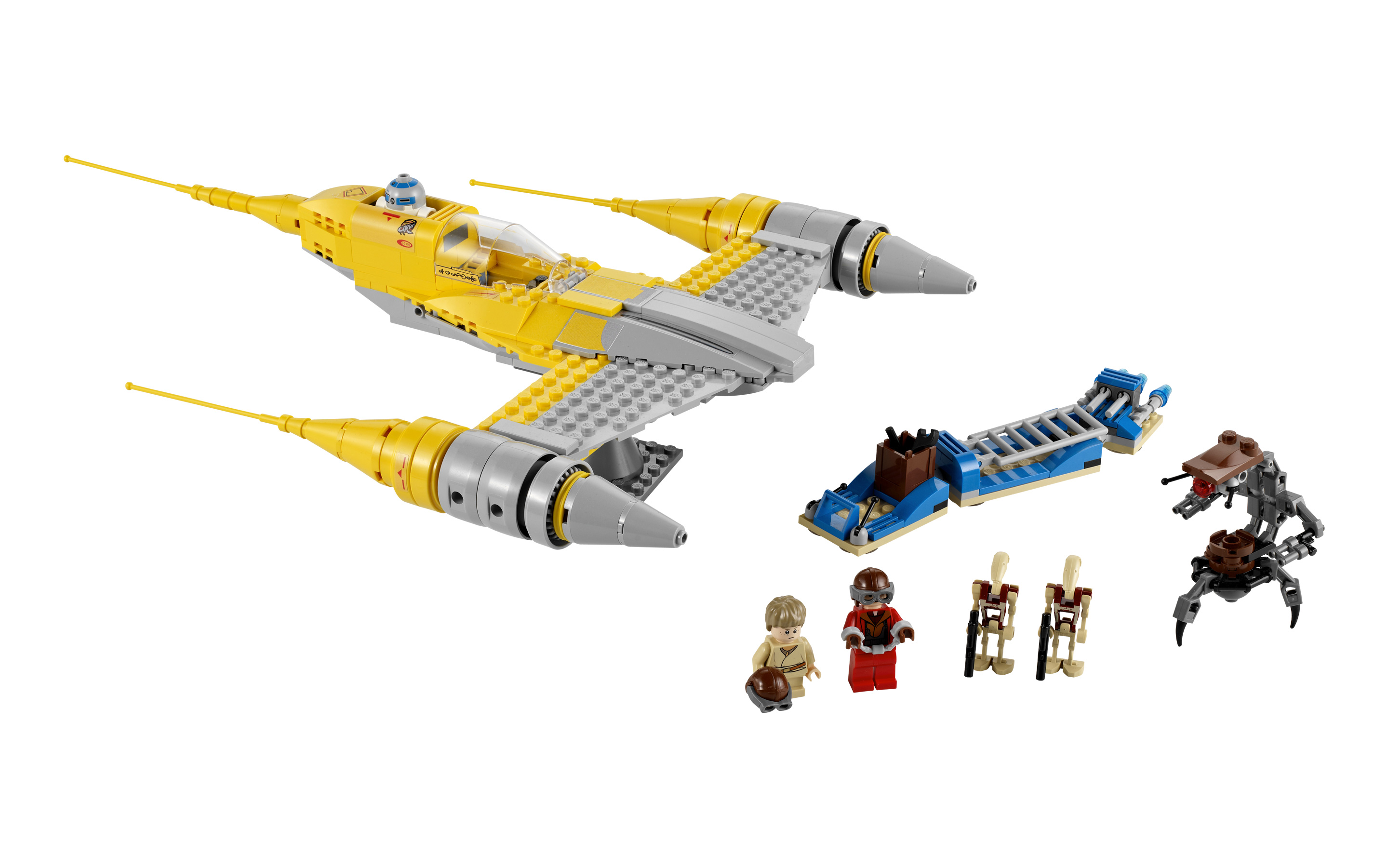 Lego 7877 Naboo Fighter
