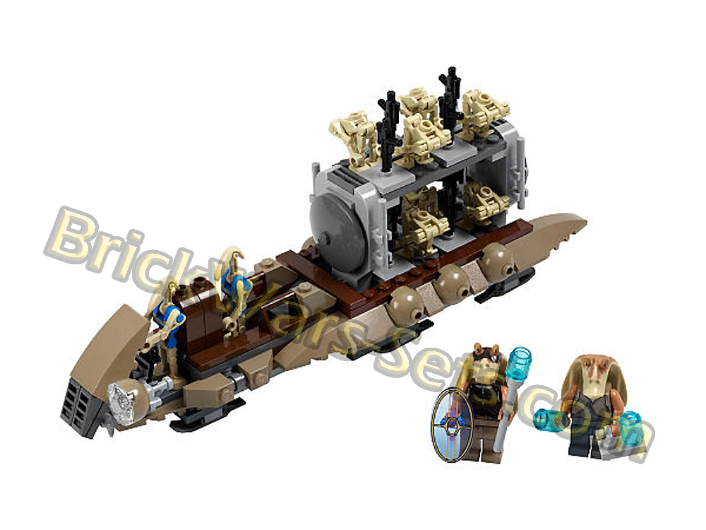 Lego 7929 The Battle of Naboo - Alternate View 1