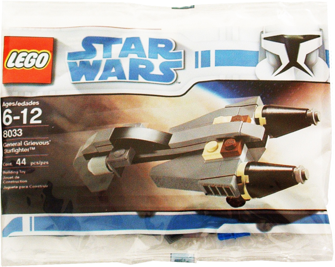 Lego 8033 MINI General Grievous Starfighter