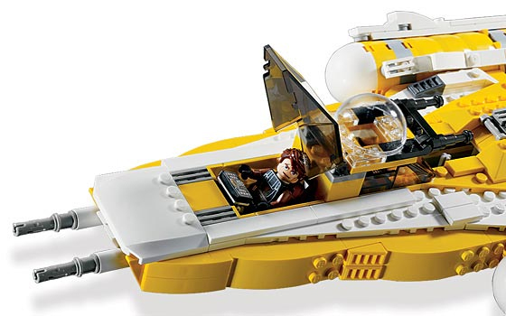 Lego 8037 Anakin's Y-Wing Starfighter - Alternate View 3