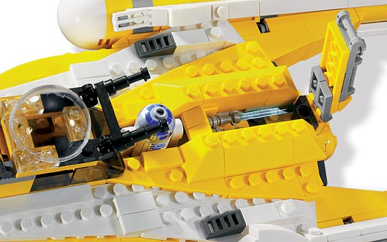 Lego 8037 Anakin's Y-Wing Starfighter - Alternate View 4