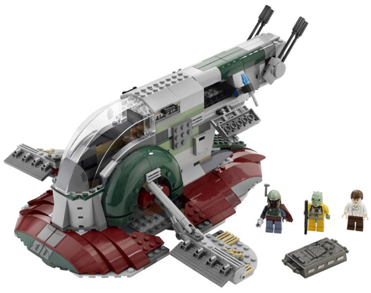Lego 8097 Slave I - Alternate View 1