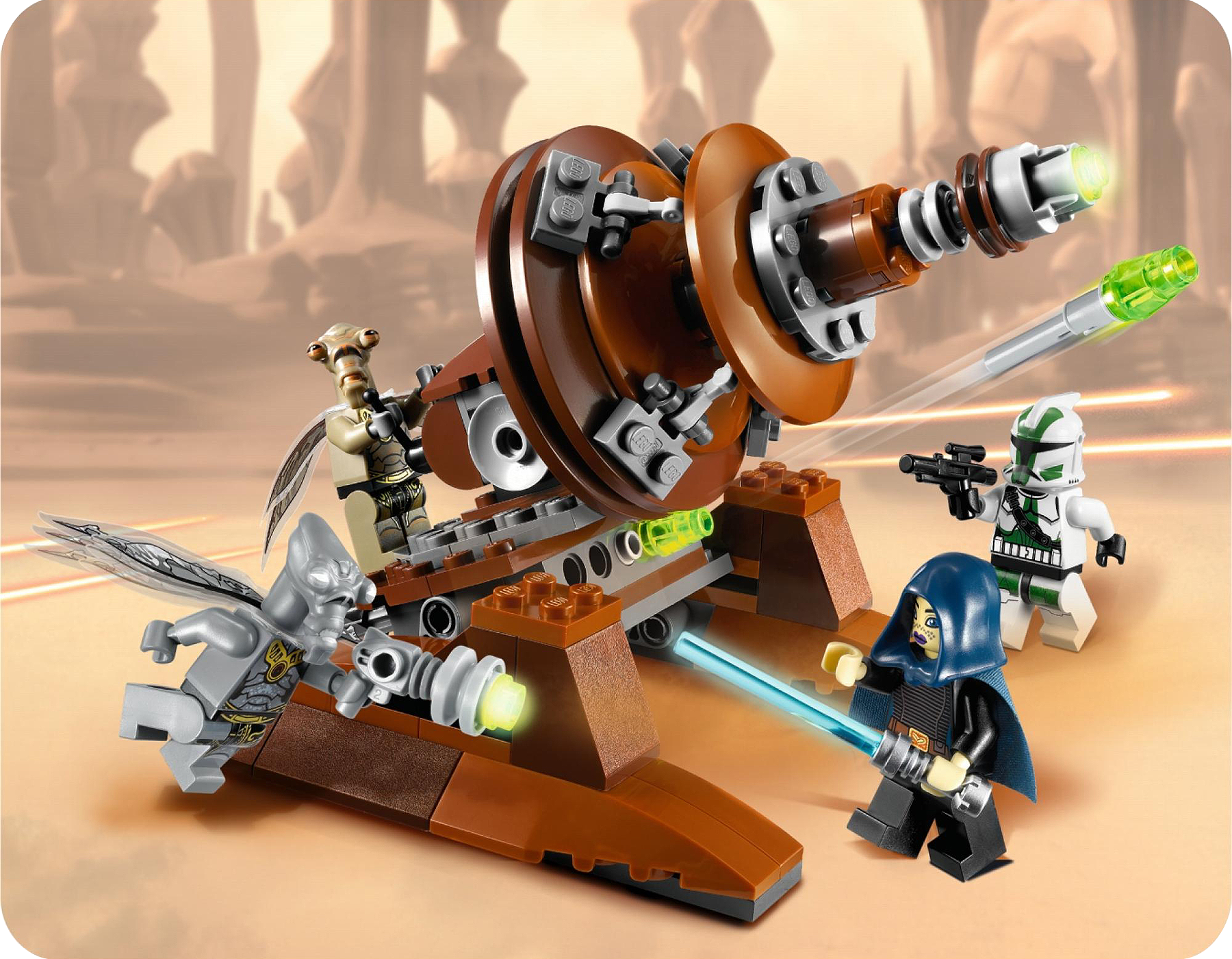 Lego 9491 Geonosian Cannon - Alternate View 1
