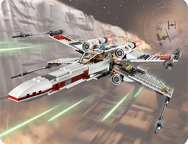 Lego 9493 X-Wing Starfighter - Alternate View 1