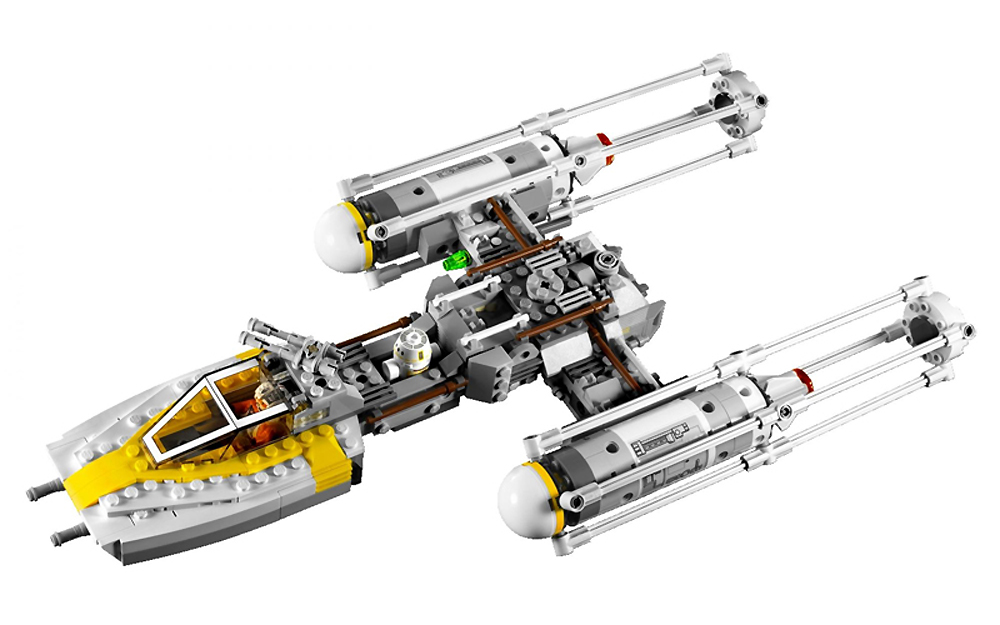 Lego 9495 Gold Leader's Y-Wing Starfighter - Alternate View 1