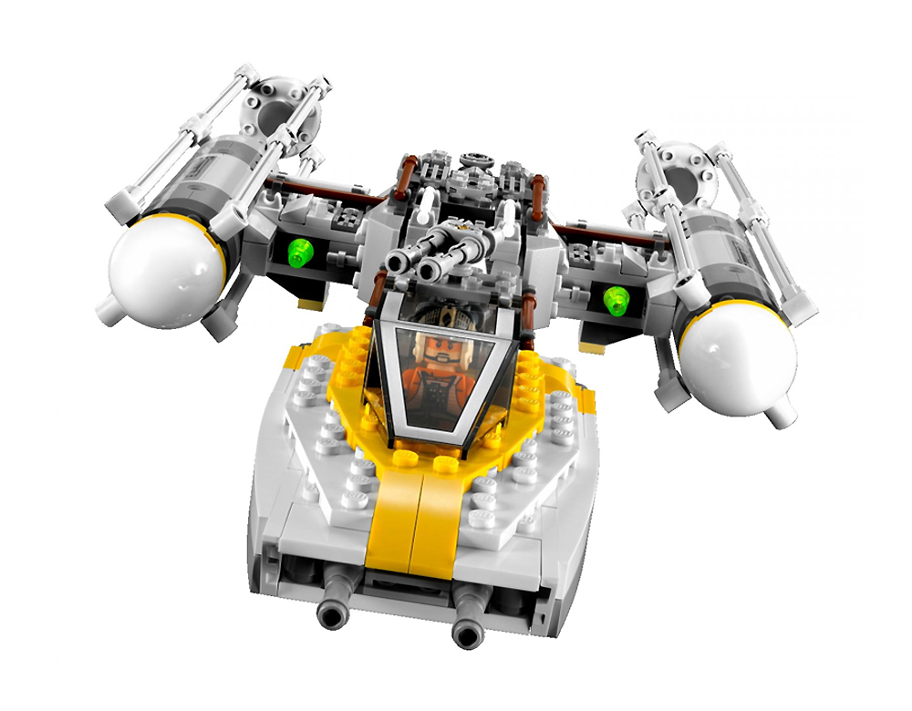 Lego 9495 Gold Leader's Y-Wing Starfighter - Alternate View 2