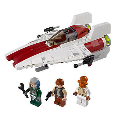 Lego 75003 A-Wing Starfighter - Alternate View 1