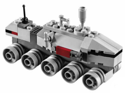 Lego 20006 MINI Clone Turbo Tank