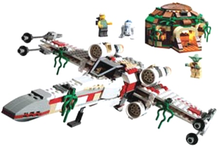 Lego 4502 X-Wing Fighter