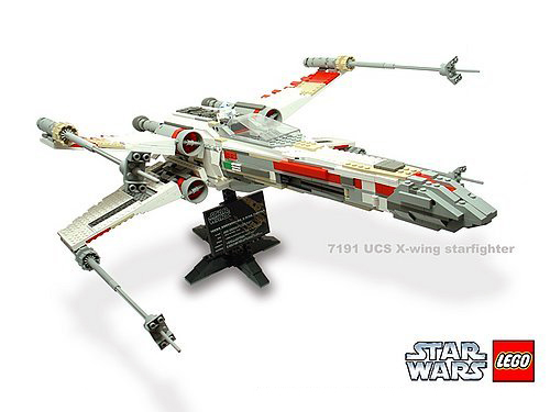 Lego 7191 X-Wing Fighter Ultimate Collectors Series