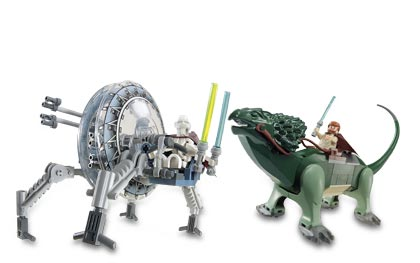 Lego 7255 General Grievous Chase