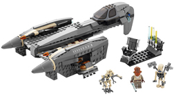 Lego 8095 General Grievous' Starfighter