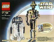Lego 65081 Technic R2-D2/C-3PO Droid Collectors Set
