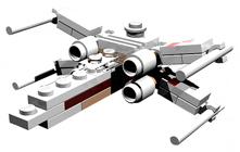 Lego 6963 MINI X-Wing Fighter