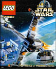 Lego 7180 B-Wing Fighter at Rebel Control Center
