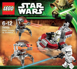 Lego 75000 Clone Troopers vs. Droidekas