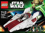 Lego 75003 A-Wing Starfighter