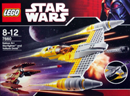 Lego 7660 Naboo N-1 Starfighter and Vulture Droid