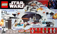 Lego 7666 Hoth Rebel Base