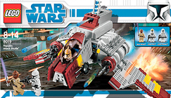 Lego 8019 Republic Attack Shuttle