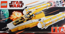 Lego 8037 Anakin's Y-Wing Starfighter